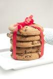 Cookies acima envolvidas Fotos de Stock Royalty Free