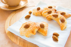 Cookies almond Stock Images