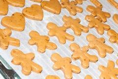 Cookies antes de cozer Fotos de Stock