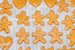 Cookies antes de cozer Imagens de Stock