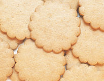 Cookies background Stock Photography