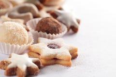 Cookies background Stock Image