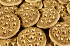 Cookies background Royalty Free Stock Photography