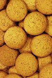 Cookies background view royalty free stock photography