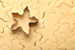 Cookies baking Royalty Free Stock Photography