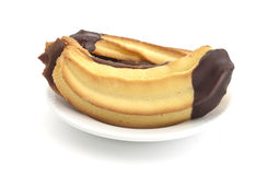 Cookies banana Stock Image