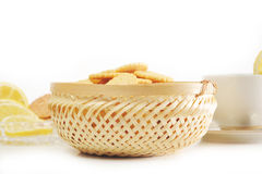 Cookies in  basket Royalty Free Stock Photography