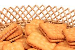 Cookies, baskets Stock Image