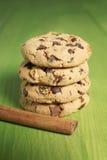 Cookies biscuit cinnamon Stock Photo