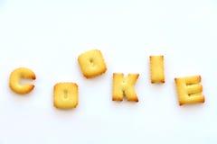 Cookies biscuit snack Stock Image