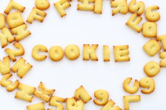 Cookies biscuit snack Royalty Free Stock Image