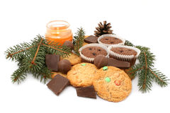 Cookies and biscuits Royalty Free Stock Photo