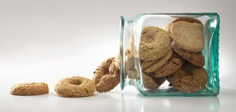Cookies and Biscuits Stock Photography