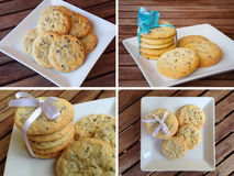 Cookies biscuits Royalty Free Stock Photo