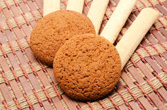 Cookies on a board Stock Images
