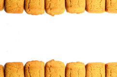 Cookies  border Royalty Free Stock Images