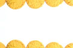 Cookies  border Stock Photos