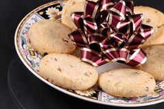Cookies and a Bow Stock Images