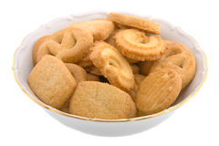 Cookies in a Bowl Stock Images
