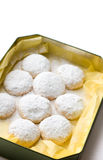 Cookies in a box Stock Photography