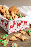Cookies in a box Stock Photo