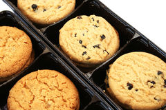Cookies in box Stock Photo
