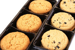 Cookies in box royalty free stock photography