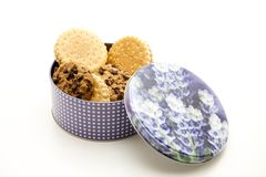 Cookies with can Stock Images