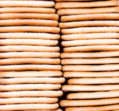 Cookies caseiros fotografia de stock