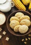 Cookies caseiros do  Orn de Ñ fotografia de stock