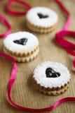 Cookies caseiros do entalhe Imagem de Stock Royalty Free