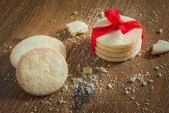 Cookies caseiros do ofício Foto de Stock