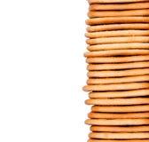 Cookies caseiros empilhadas imagem de stock