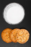 Cookies Cereal with Milk Royalty Free Stock Image