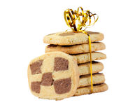 Cookies checkered Stock Photography