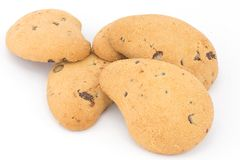 Cookies with chocolate chips Stock Photography