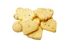 Cookies with Chocolate. Stock Photos