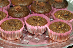 Cookies and Chocolate Muffins Stock Photos