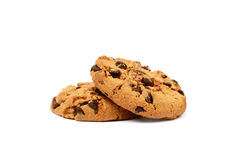 Cookies with chocolate pieces Royalty Free Stock Photo