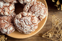 Cookies for Chrismas Royalty Free Stock Photography