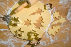 Cookies for christmas Stock Images