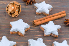 Cookies for christmas Royalty Free Stock Photos