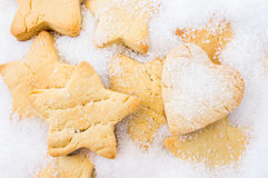 Cookies for Christmas, New Year Royalty Free Stock Photos