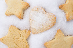 Cookies for Christmas, New Year Stock Photography