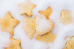 Cookies for Christmas, New Year Royalty Free Stock Images