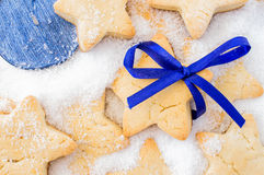Cookies for Christmas, New Year Royalty Free Stock Image