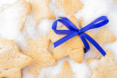 Cookies for Christmas, New Year Stock Photo
