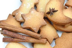 Cookies for Christmas Stock Photography