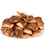 Cookies with cinnamon Royalty Free Stock Image