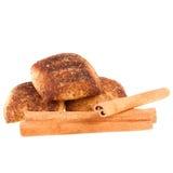 Cookies with cinnamon Stock Photography